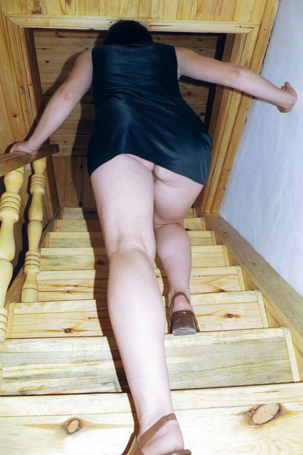 Teen Upskirt Climbing Fence No Panties Videos and